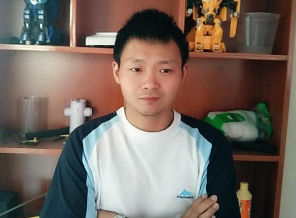 贞利CNC编程学员——王伟